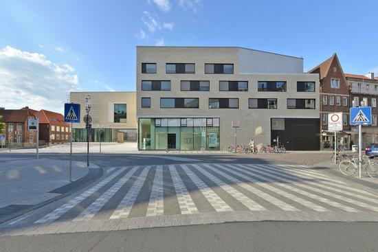 LWL-Museum für Kunst und Kultur: Blick auf den Neubau von der Aegidistraße. Foto: LWL / EDK
