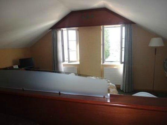 Hotel du Port : Спальня.