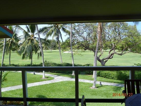 Kona Coast Resort: Aussicht vom Balkon