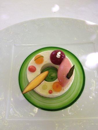 Le Prieure : Un dessert superbe