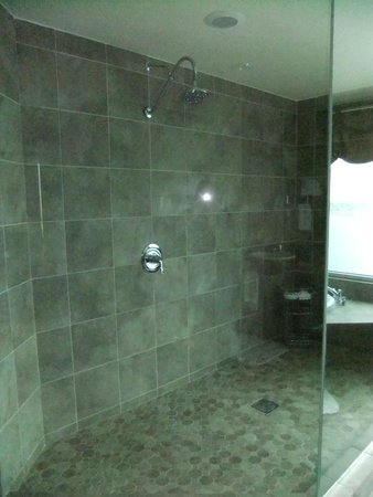 big walk in showers. The Mill Casino Hotel  Big walk in shower Picture of North Bend