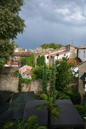 Hotel Spa Le Calendal : vue de notre chambre