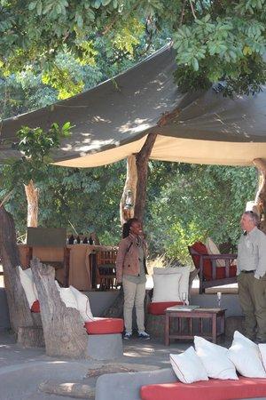 Tena Tena Camp: Main common area and dining area