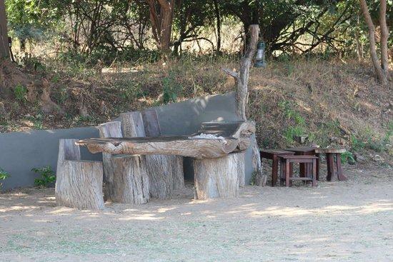 Tena Tena Camp: Lounge area
