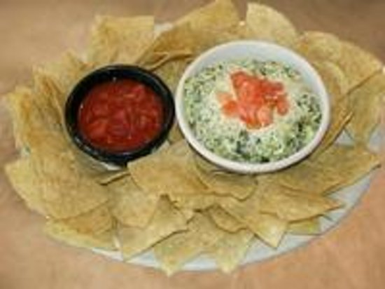 Sticky Fingers Rib House: Sticky Fingers Spinach and Artichoke Dip ...
