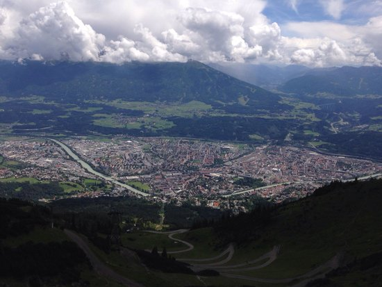 Innsbrucker Nordkettenbahnen: Se hela Innsbruck