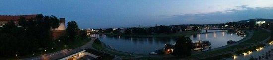 Pod Wawelem Hotel : serata sul fiume vistola
