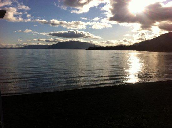 Lican Ray, Chile: Desde la carretera