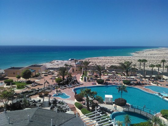 SENTIDO H10 Playa Esmeralda : vista dal balcone panoramico
