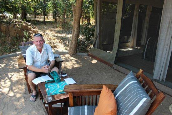 Tena Tena Camp: Relaxing