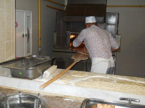 Sealight Resort Hotel: pizza