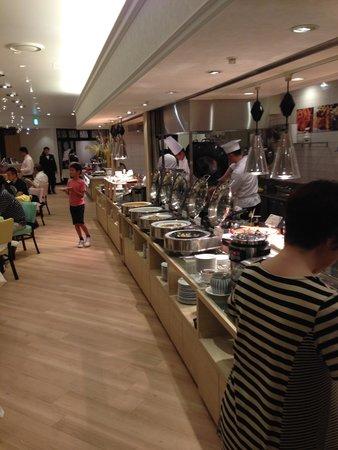 Etowaru: ライブキッチンです!