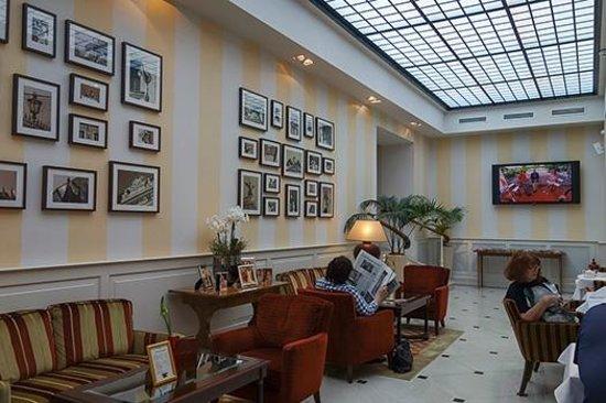 Hotel Kaiserhof Wien: Lounge