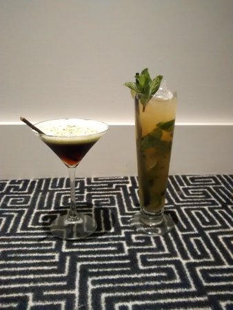 Hotel Indigo Newcastle: Out of this world Cocktails..