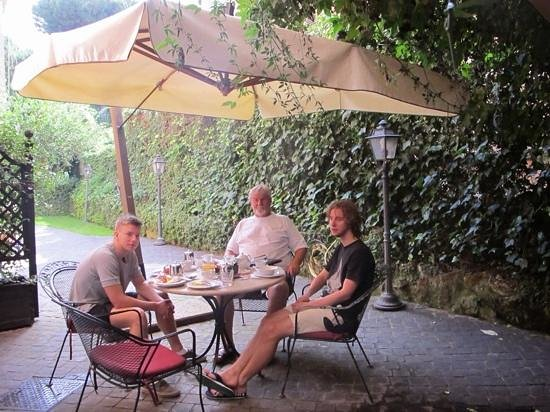 Hotel Aventino : breakfast