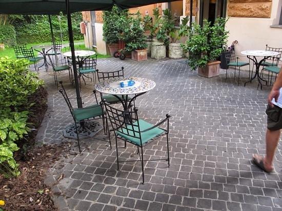 Hotel Aventino: garden