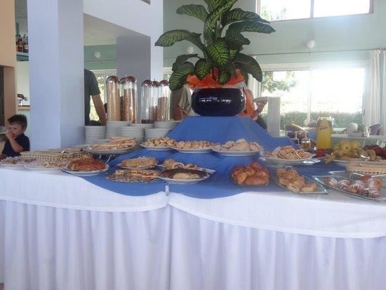 Hotel Luna Lughente : petit dejeuner