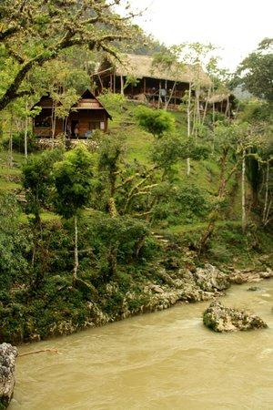 Hostal El Portal de Champey: desde el rio