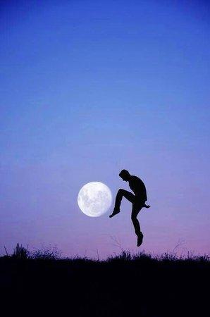 Posada Hostel La Casa de la Luna: La Luna a tu pies