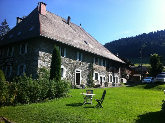 View of the Farmhouse in summer
