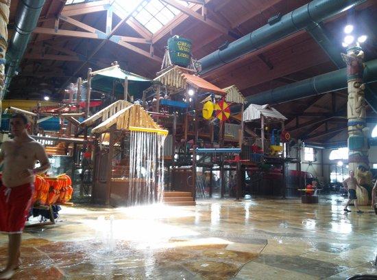 Great Wolf Lodge Kansas City : jungle gym