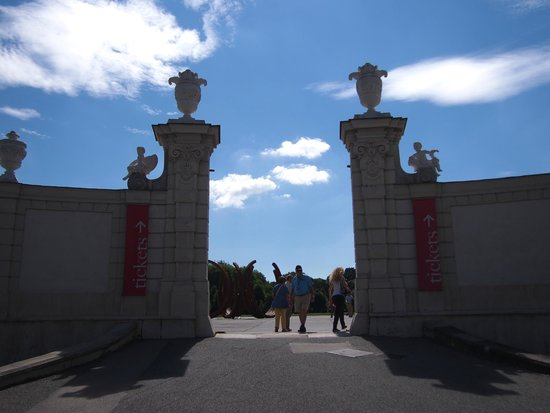 Belvedere Palace Museum : 入り口です