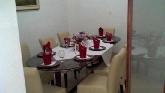 Maña Restaurant: private dining room