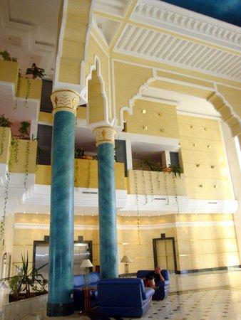 Hotel Palace Royal Garden : Le hall de l'hôtel