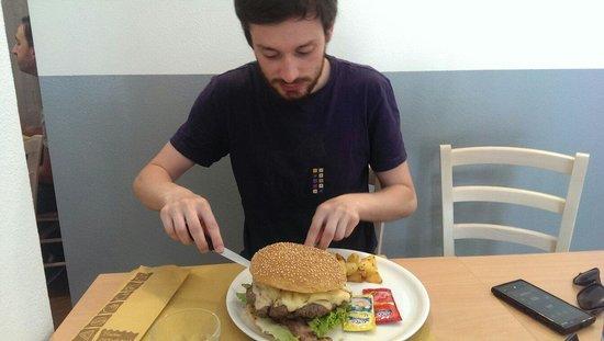 Macelleria Trattoria Fornaciari : Best burger