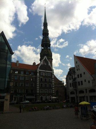 Riga Town Hall Square: Town square