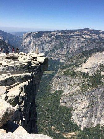 The Majestic Yosemite Hotel: Top of Half Dome