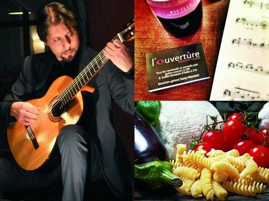 L'Ouverture Restaurant Musical : Concert