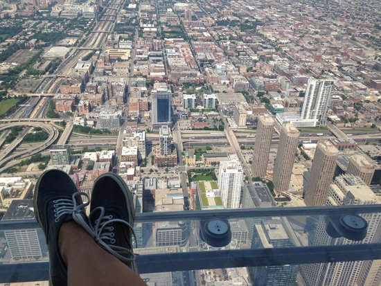 Skydeck Chicago - Willis Tower : View from SkyDeck
