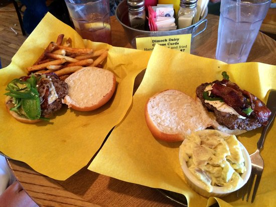Black Hills Burger and Bun Co.: Our burgers