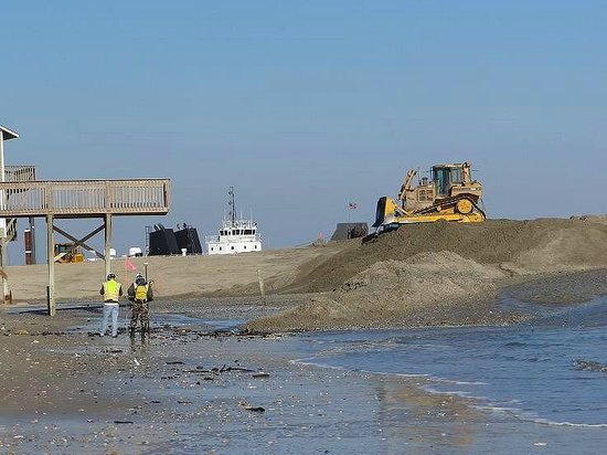 Topsail Island: trying to rebuild north end