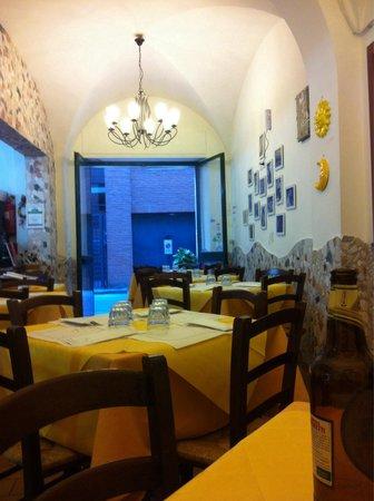 La Taverna di Pulcinella : Interno pizzeria