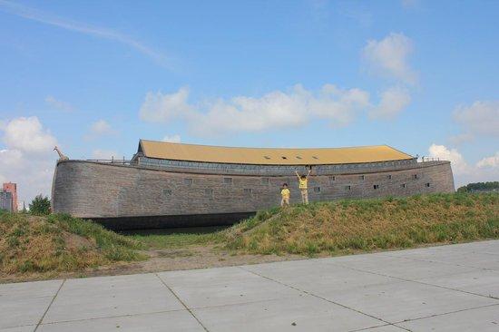 Noah's Ark: Vista desde el parking