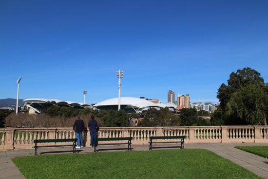 Adelaide oval and city skyline picture of light 39 s vision for 208 south terrace adelaide