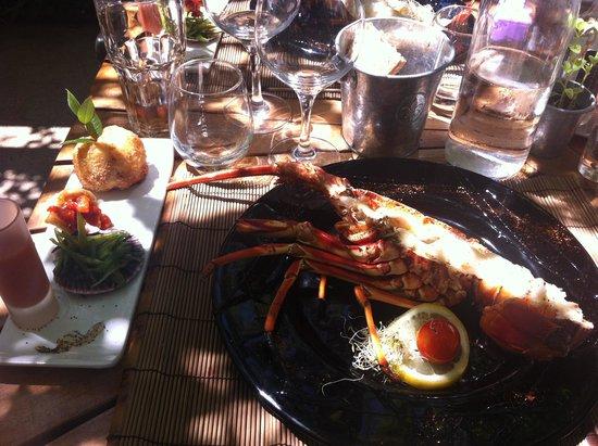 Cafe de la Plage: langouste grillée