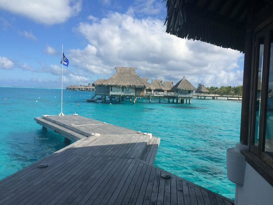 Conrad Bora Bora Nui : Arriving at the resort