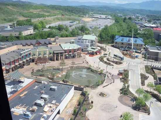 The Great Smoky Mountain Wheel: View from the wheel