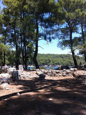 Phaselis Antique City: phaselis