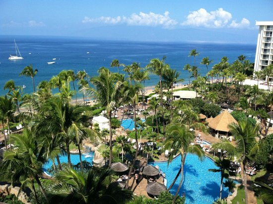 Westin Maui Resort And Spa: pool/ocean view from our room