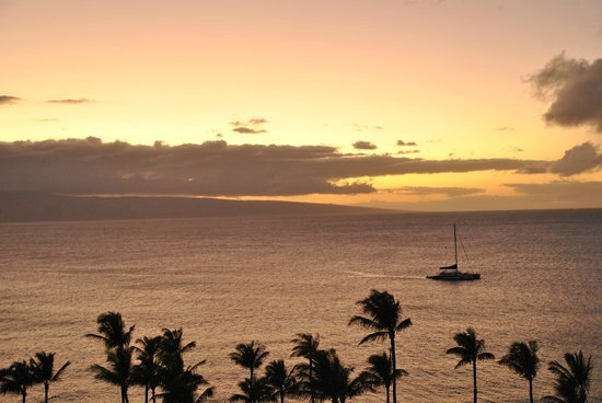 The Westin Maui Resort & Spa: sunset from our balcony