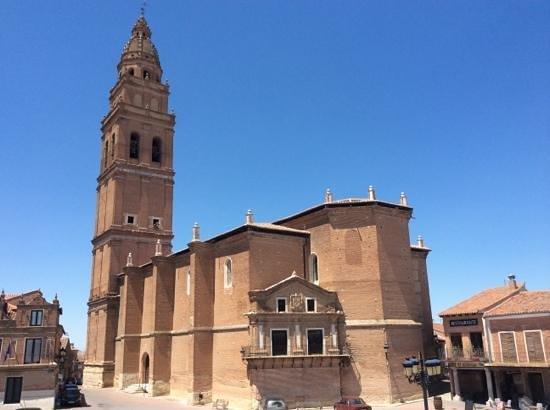 Alaejos, Spain: vista desde el balcon del comedor de Puerta Grande