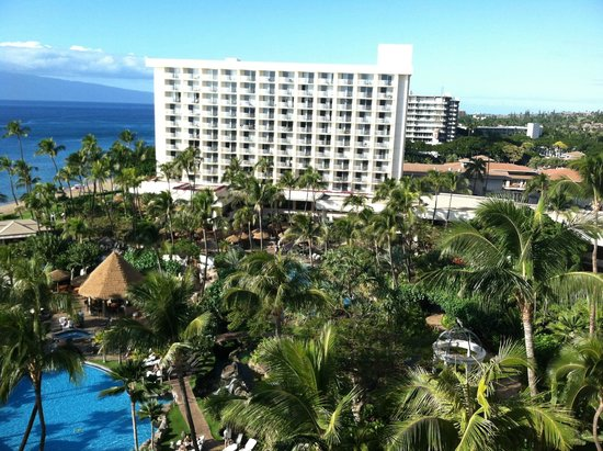 Westin Maui Resort And Spa : Hotel from our room