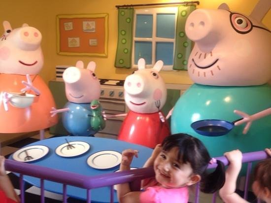 The Capital Hotel: It's peppa pig!!