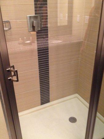 Cypress Bayou Casino Hotel: nice shower.