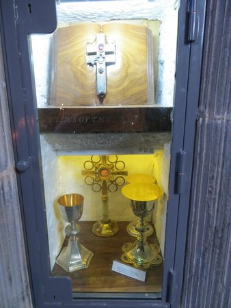 """Holy Cross Abbey: A relic of """"the true cross"""" gives the Abbey its name..."""