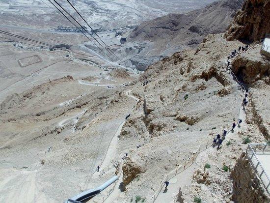Masada National Park: percorsi